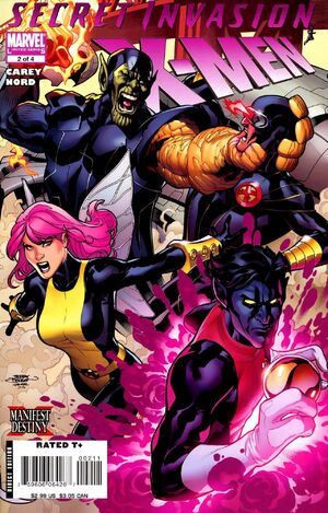 Secret Invasion X-Men Vol 1 2