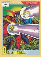 Stephen Strange (Earth-616) from Marvel Universe Cards Series II 0001