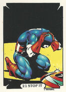 Steven Rogers (Earth-616) from Mike Zeck (Trading Cards) 0002