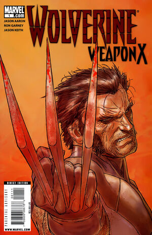 Wolverine Weapon X Vol 1 1