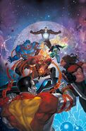 Astonishing X-Men Vol 4 15 Cosmic Ghost Rider Vs. Variant Textless