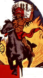 Black Marvel (Old West) (Earth-616) from Mystic Comics Vol 1 5 0001