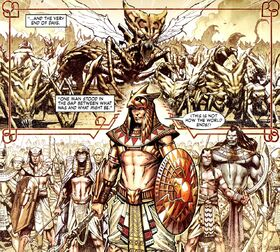 Brotherhood of the Shield (Earth-616) from S.H.I.E.L.D. Vol 1 1 001