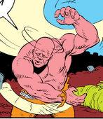 Bulk (Earth-616) from New Mutants Annual Vol 1 4 0001