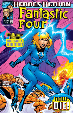Fantastic Four Vol 3 2 B