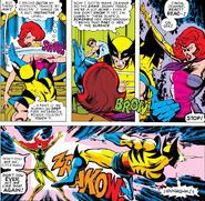 James Howlett & Jean Grey (Earth-616) from X-Men Vol 1 111 0001