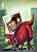 Moon Girl and Devil Dinosaur Vol 1 1 von Eeden Variant Textless