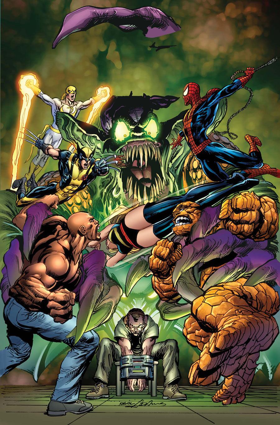 New Avengers Vol 2 16.1 Textless