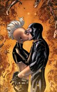 Ororo Munroe (Earth-12245) and Scott Summers (Earth-616) from Astonishing X-Men Vol 3 44 0001