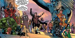 Shi'ar Empire from X-Men Emperor Vulcan Vol 1 5