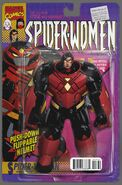 Spider-Woman Vol 6 7 Action Figure Variant