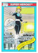 Susan Storm (Earth-616) from Marvel Universe Cards Series I 0001