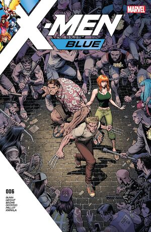 X-Men Blue Vol 1 6