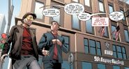 17th Precinct Station House from Spider-Man 2099 Vol 3 8 001