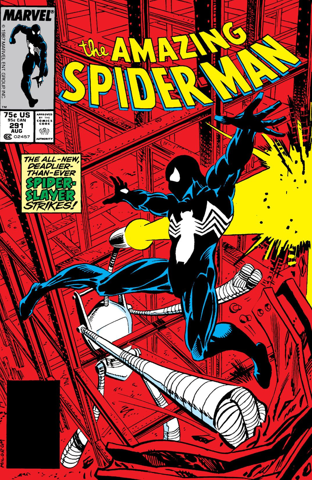 amazing spider man vol 1 291 marvel database fandom. Black Bedroom Furniture Sets. Home Design Ideas