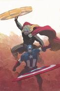 Avengers Vol 5 1 Ribic Variant Textless