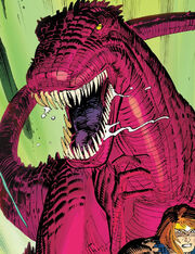 Devil Dinosaur (Earth-Unknown) from Avengers Vol 4 3 0001