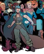 Doreen Green (Earth-616) with Mjolnir from Unbeatable Squirrel Girl Beats Up The Marvel Universe Vol 1 1 001