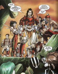 Eight Immortals (Earth-616) from X-Men Vol 2 158