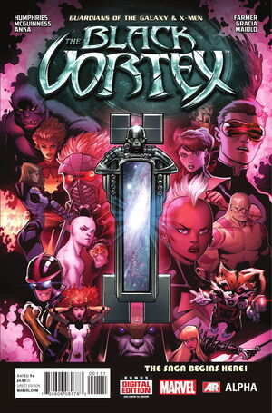 Guardians of the Galaxy & X-Men Black Vortex Alpha Vol 1 1