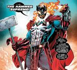 Hammer Supreme (Warp World) (Earth-616) from Secret Warps Iron Hammer Annual Vol 1 1 001