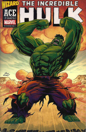 Incredible Hulk Vol 1 1 (Wizard Ace Edition)