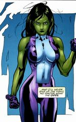 Jennifer Walters (Earth-11124) from Fear Itself Fearsome Four Vol 1 4 0001