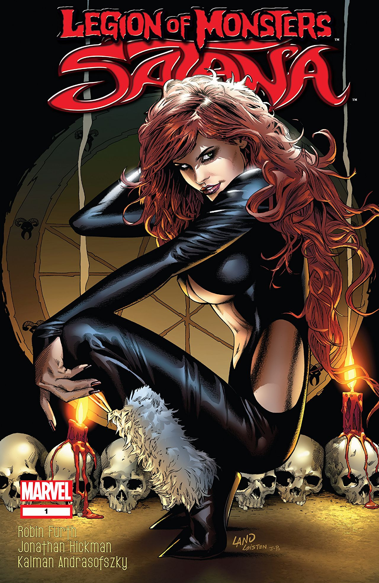 Legion of Monsters Satana Vol 1 1
