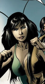 Mantis (Earth-58163) from House of M Avengers Vol 1 2 001