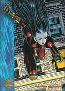 Monet St. Croix (Earth-616) from Marvel Universe Trading Cards 1994 Set 0001