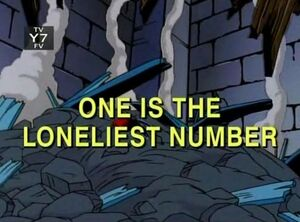 One is the Loneliest number Spider-Man Unlimited