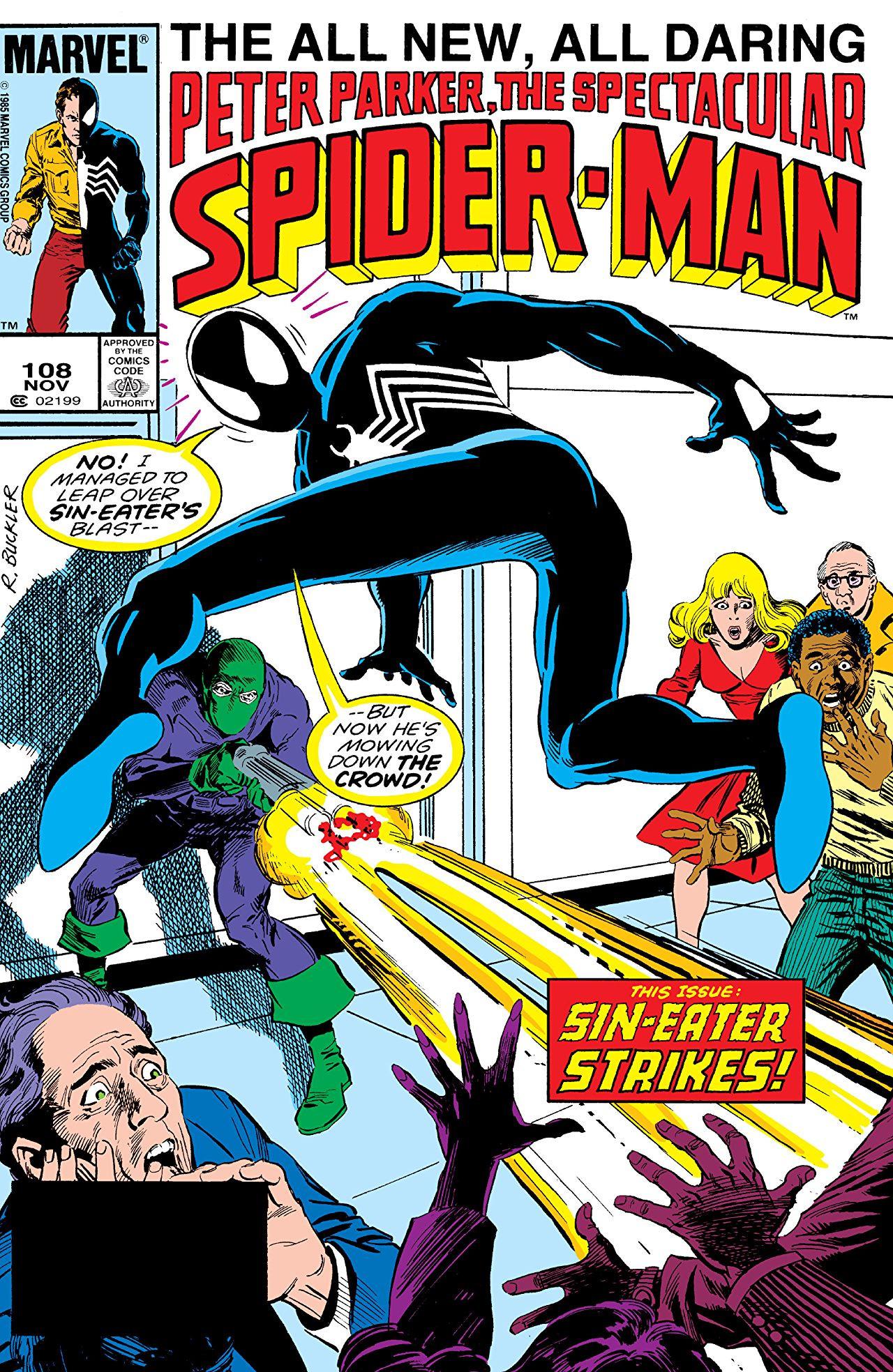 Peter Parker, The Spectacular Spider-Man Vol 1 108