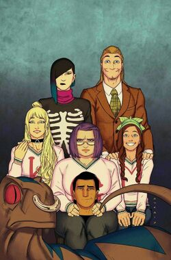 Runaways Vol 5 7 Textless