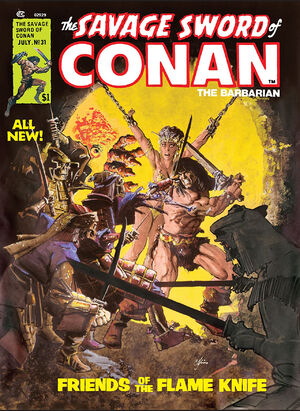 Savage Sword of Conan Vol 1 31