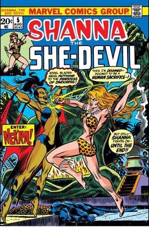 Shanna, The She-Devil Vol 1 5