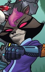 Shocket Raccoon (Earth-616) from Howard the Duck Vol 6 1 001