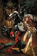 Spider-Man Red Sonja Vol 1 1 Textless