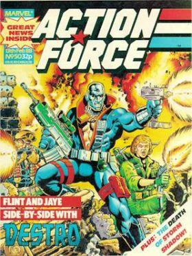 Action Force Vol 1 50