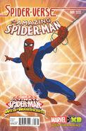 Amazing Spider-Man Vol 3 9 Marvel Animation Spider-Verse Variant