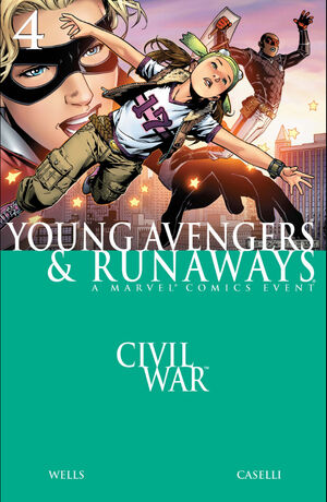 Civil War Young Avengers and Runaways Vol 1 4