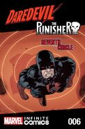 Daredevil Punisher Seventh Circle Infinite Comic Vol 1 6