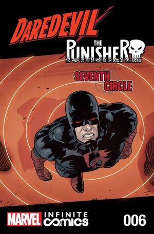 Daredevil Punisher Seventh Circle Infinite Comic Vol 1 6