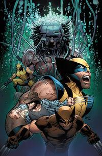 Death of Wolverine Vol 1 4 Land Variant Textless