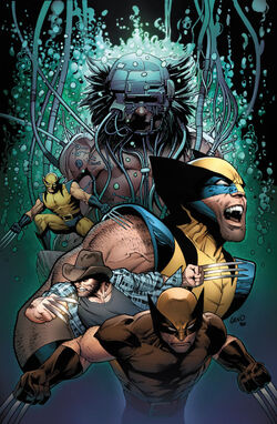Wolverine marvel database fandom powered by wikia death of wolverine vol 1 4 land variant textless voltagebd Images