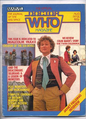 Doctor Who Magazine Vol 1 91