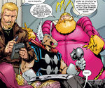 Exiles (Multiverse), Henry Pym (Earth-8545), and Volstagg (Earth-8545) from Exiles Vol 1 22 0001