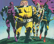 Guardians of the Galaxy (Earth-691) from Astonishing Tales Vol 1 29 0001