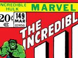 Incredible Hulk Vol 1 149