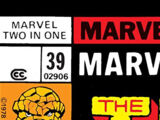 Marvel Two-In-One Vol 1 39