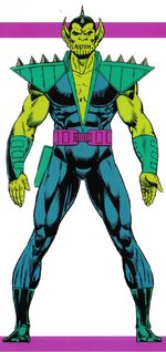 Paibok (Earth-616) from Official Handbook of the Marvel Universe Master Edition Vol 1 32 001